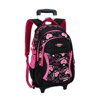 2016 New Children School Bags with 3 Wheels Removable Childr...