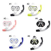 Professional Scuba Diving Mask Snorkel Anti- Fog Goggles Glas...