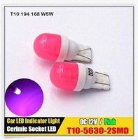 20PCS White T10 2SMD 5630 LED Light W5W Width Lamp Modified ...