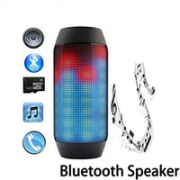 By DHL Free New PULSE Wireless Bluetooth Speaker with LED Li...
