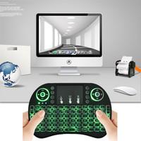 Rii mini i8+ 2. 4G Wireless English Backlight Keyboard TouchP...