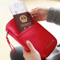 2016 New Multifunction Travel Bag Document Holder Canvas Org...