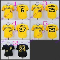 pittsburgh pirates #6 starling marte #24 barry bonds #25 gre...