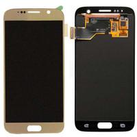 Original Affichage LCD Full Pour Samsung Galaxy S7 avec écran tactile de remplacement Assemblée Digitizer Expédition SM-G930A SM-G930F G9300 DHL gratuit