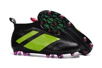 Wholesale ACE 16+ PureControl FG 2016 Men' s soccer boot...