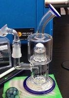 Nouveau TORO Bongs en verre Arbre en ligne perc