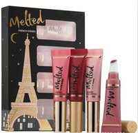 French Kisses Melted Metallic Lip Gloss 4 Color set Lipgloss...