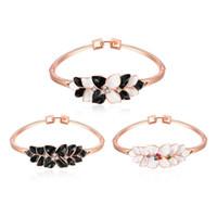 2016 bracelets de mode européens et américains chauds vendent comme des gâteaux chauds Bracelet en or rose 18k haut de gamme