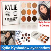 NEW Дженнер Eyeshadow Kyshadow пудра Eye Shadow Palette Бронзовая палитра Долговечность Матовый Кайли водостойкой косметики Kit