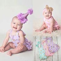 Baby Infant Toddler Girl Cotton Dot Backless Slip Dress Ones...