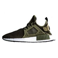 Originals Quality NMD Runner XR1 Running Shoes Olive Green S...