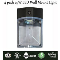 New 4 pack 25W LED Park Light, wall Mount Light Outdoor Entra...
