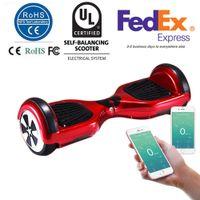 6.5 pouces Smart Balance Roue Hoverboard électrique Skateboard Monocycle Drift Auto équilibrage Scooter debout APP Control UL2272 CER