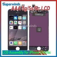 Grade AAA qualité iPhone 5 5g 5s 5c écran LCD écran tactile Digitizer pleine Assemblée Livraison gratuite NON PIXELS morts