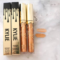 El más nuevo Kylie Jenner Lipkit en la edición limitada del cumpleaños de LEO CONFIRMÓ el envío libre DHL del color de la alta calidad 12 del lápiz labial mate