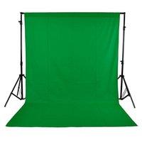 1,6 x 3m / 5 x Fotografia 10FT studio non tessuti del contesto schermo / Background 3 colori D2204