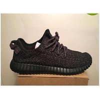 2016 NEW Yeezy Boost 350 Pirate Black Best Quality Authentic...