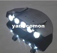 5 Leds Cap Hat Light Clip- On 5 LED Fishing Camping Head Ligh...