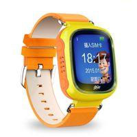 Luxe Bluetooth Smart Watch Mode Montre Smartwatch enfants Montre-bracelet Appareil numérique portatif pour IOS GSM Positionnement GPS Q70
