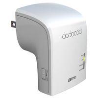 dodocool AC750 Dual Band Wireless Wi-Fi AP / ripetitore del ripetitore / Router simultanea 2,4 GHz e 5 GHz 300Mbps 433Mbps DC24