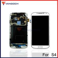 Pour Samsung Galaxy S4 i9500 i9505 I545 I337 i9502 LCD Screen Display tactile Digitizer Assemblée avec cadre remplacement réparation