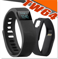 TW64 Smart Watch Bluetooth Watch Bracelet Smart bande compteur de calories Podomètre Activity Tracker pour l'iPhone Samsung Android IO