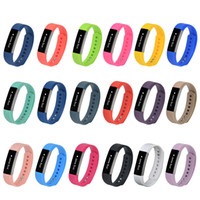 100% de haute qualité 2016 Nouveau poignet de remplacement Band silicone fermoir Pour Fitbit Alta montre Smart Watch Bracelet 18 Couleur