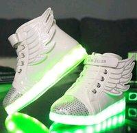 Kids LED Shoes Luminous LED Lights Wings Shoes Kids LED Lamp...