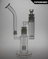 Nouveau 34.5cm total grand verre bong matrice percolateur fumer eau bong headshow percolateur cendrier capteur tuyaux d'eau joint taille 18.8mm FC-MOD