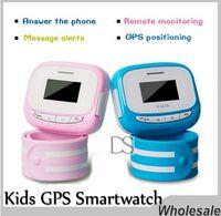 New Arrival Children Bracelet Smart Watch Téléphone Smart Phone Bracelet Call Watch Positionnement GPS Boy Child Gifted Students SOS