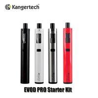 Authentic Kangertech Evod PRO Starter Kit batterie 18650 4ml mod remplissage Top Kanger All in one Kits