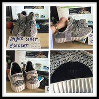 2016 yzy boost 350 kanye west boost 350 sneakers men soccer ...