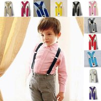 Wholesale- Boys Girls Kid Children Clip on Y Back Elastic Sus...