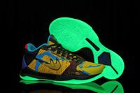 New Kobe 5 Led Lighting Designer Mens Kobe Basketball Sneake...