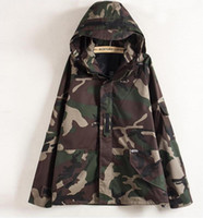 Tactical Camouflage Jacket Men Women Plus Size Camo Hooded W...