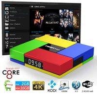 Best Android Tv Box T95K Pro Android6. 0 S912 Octa- core Kodi ...