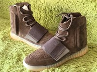 Kanye Boost 750 Grilleg Chocolate Translucent PU outsole Bro...