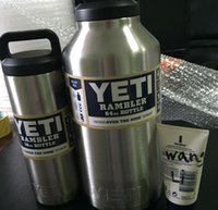 Yeti 18oz Rambler 304 Stainless Steel Cups Large Capacit Coo...