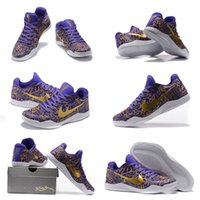 (With shoes Box)Hot Sale Kobe 11 LOW Mamba Day Prelude Pack ...