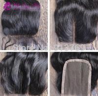 6A Stock 3. 5*4 Virgin Brazilian Hair Body Wave Swiss Lace Fr...