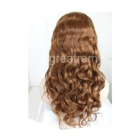 Greatremy Lace Front Wig Color #4 Body Wave 100% Virgin Braz...