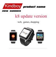 2016 montre Smart Watch K8 version mise à jour Q1 1,54
