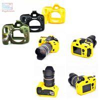 Gros-Frame Coque en silicone souple de protection en caoutchouc Body Cover peau pour Nikon D7200 D7100 Caméra