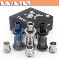 NEW El Philippines RTA atomiseur Vaporisateur Kit Colored reconstructible Dripper réservoir Peek Insulator Fit 510 atomiseurs Mods