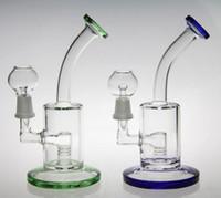 Verre bon marché verre bongs plate-forme pétrolière dabs pipes d'eau hookah Inline perk bongs marque pipe pipe pipe pipe verre