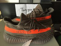 SPLY 350 Black White Stripe Grey Orange Stripe Boost 550 Tra...