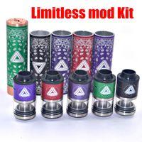 2016 Newest Limitless mod Kit Limitless Rda Rta Clone 5 colo...