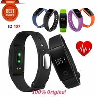 20pcs Fitbit ID107 Wristbands with Heart Rate Monitor Fitnes...