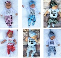DHL free!12 sets lot Fashion baby clothing baby short long s...