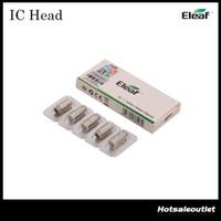 Eleaf IC Head pour iCare et iCare Mini Kit IC 1.1ohm Head avec saveur agréable Surtout pour Mouth to Lung Inhaler 100% Original
